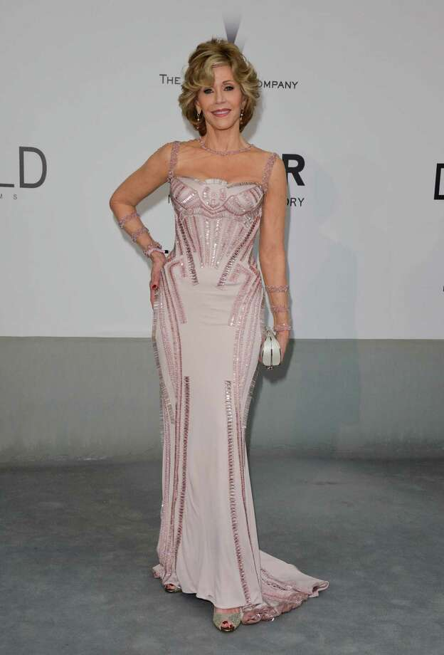 Jane Fonda attends amfAR's 21st Cinema Against AIDS Gala, Presented By WORLDVIEW, BOLD FILMS, And BVLGARI at the 67th Annual Cannes Film Festival on May 22, 2014 in Cap d'Antibes, France.  (Photo by George Pimentel/WireImage) Photo: George Pimentel, Getty Images  / 2014 George Pimentel