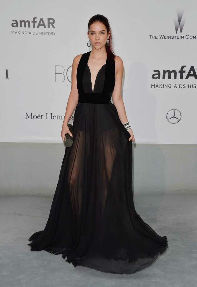 Barbara Palvin attends amfAR's 21st Cinema Against AIDS Gala, Presented By WORLDVIEW, BOLD FILMS, And BVLGARI at the 67th Annual Cannes Film Festival on May 22, 2014 in Cap d'Antibes, France.  (Photo by George Pimentel/WireImage) Photo: George Pimentel, Getty Images  / 2014 George Pimentel