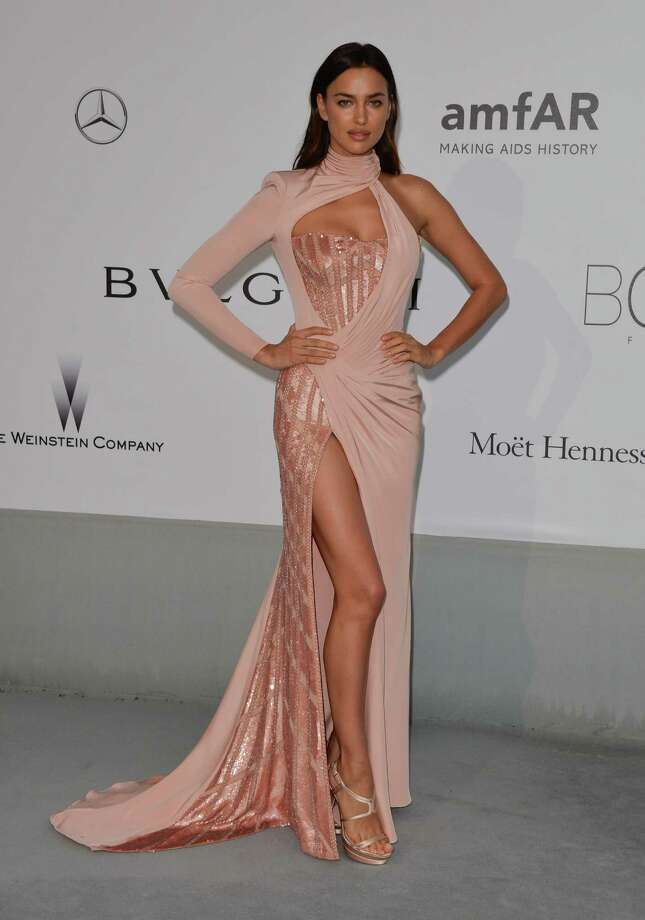 Irina Shayk attends amfAR's 21st Cinema Against AIDS Gala, Presented By WORLDVIEW, BOLD FILMS, And BVLGARI at the 67th Annual Cannes Film Festival on May 22, 2014 in Cap d'Antibes, France.  (Photo by George Pimentel/WireImage) Photo: George Pimentel, Getty Images  / 2014 George Pimentel