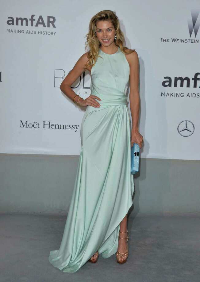 Jessica Hart  attends amfAR's 21st Cinema Against AIDS Gala, Presented By WORLDVIEW, BOLD FILMS, And BVLGARI at the 67th Annual Cannes Film Festival on May 22, 2014 in Cap d'Antibes, France.  (Photo by George Pimentel/WireImage) Photo: George Pimentel, Getty Images  / 2014 George Pimentel