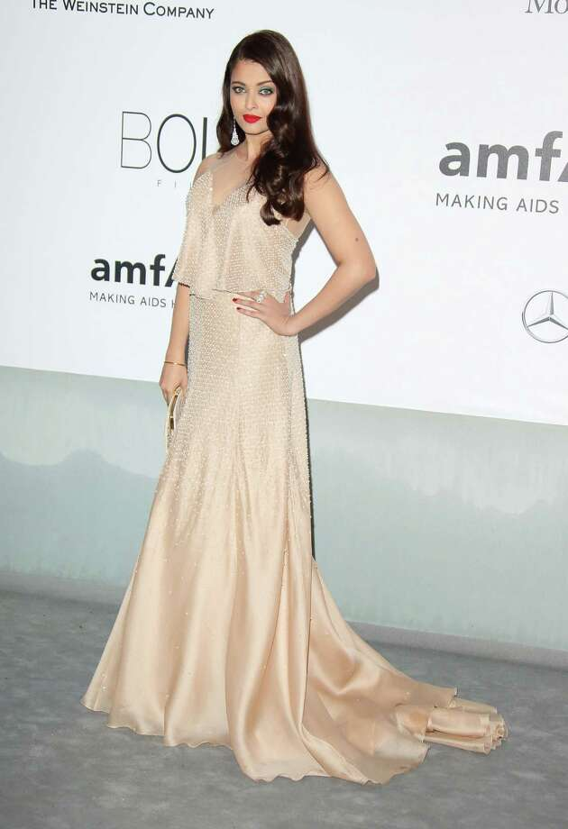 Aishwarya Rai attends amfAR's 21st Cinema Against AIDS Gala, Presented By WORLDVIEW, BOLD FILMS, And BVLGARI at the 67th Annual Cannes Film Festival on May 22, 2014 in Cap d'Antibes, France.  (Photo by Mike Marsland/WireImage) Photo: Mike Marsland, Getty Images  / 2014 Mike Marsland