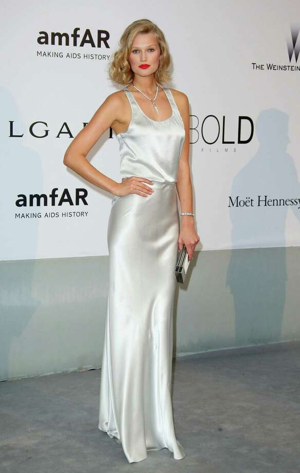 Toni Garrn attends amfAR's 21st Cinema Against AIDS Gala, Presented By WORLDVIEW, BOLD FILMS, And BVLGARI at the 67th Annual Cannes Film Festival on May 22, 2014 in Cap d'Antibes, France.  (Photo by Mike Marsland/WireImage) Photo: Mike Marsland, Getty Images  / 2014 Mike Marsland