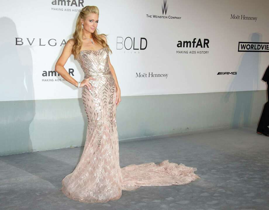 Paris Hilton attends amfAR's 21st Cinema Against AIDS Gala, Presented By WORLDVIEW, BOLD FILMS, And BVLGARI at the 67th Annual Cannes Film Festival on May 22, 2014 in Cap d'Antibes, France.  (Photo by Mike Marsland/WireImage) Photo: Mike Marsland, Getty Images  / 2014 Mike Marsland