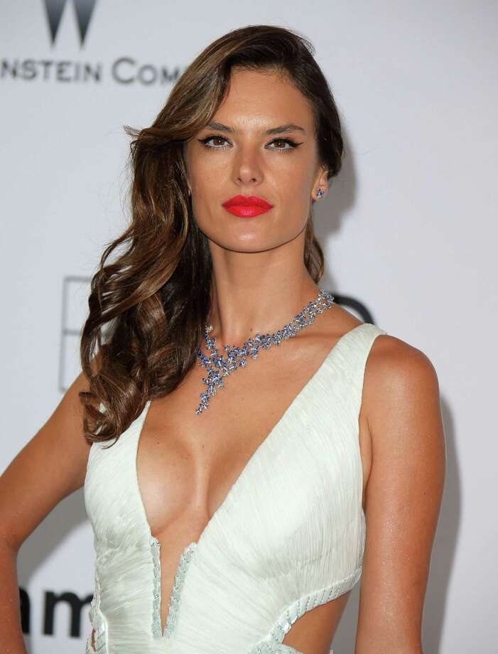 Alessandra Ambrosio attends amfAR's 21st Cinema Against AIDS Gala, Presented By WORLDVIEW, BOLD FILMS, And BVLGARI at the 67th Annual Cannes Film Festival on May 22, 2014 in Cap d'Antibes, France.  (Photo by Mike Marsland/WireImage) Photo: Mike Marsland, Getty Images  / 2014 Mike Marsland