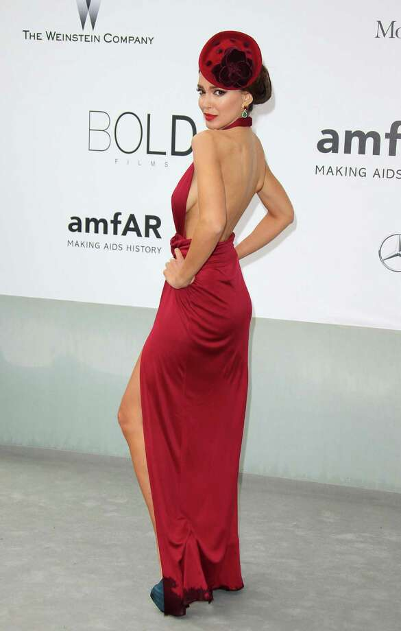 Sahar Biniazattends amfAR's 21st Cinema Against AIDS Gala, Presented By WORLDVIEW, BOLD FILMS, And BVLGARI at the 67th Annual Cannes Film Festival on May 22, 2014 in Cap d'Antibes, France.  (Photo by Mike Marsland/WireImage) Photo: Mike Marsland, Getty Images  / 2014 Mike Marsland