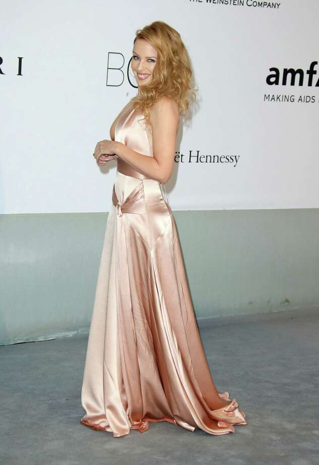 Kylie Minogue attends amfAR's 21st Cinema Against AIDS Gala, Presented By WORLDVIEW, BOLD FILMS, And BVLGARI at the 67th Annual Cannes Film Festival on May 22, 2014 in Cap d'Antibes, France.  (Photo by Mike Marsland/WireImage) Photo: Mike Marsland, Getty Images  / 2014 Mike Marsland