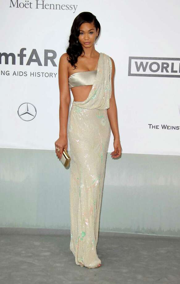 Chanel Iman attends amfAR's 21st Cinema Against AIDS Gala, Presented By WORLDVIEW, BOLD FILMS, And BVLGARI at the 67th Annual Cannes Film Festival on May 22, 2014 in Cap d'Antibes, France.  (Photo by Mike Marsland/WireImage) Photo: Mike Marsland, Getty Images  / 2014 Mike Marsland