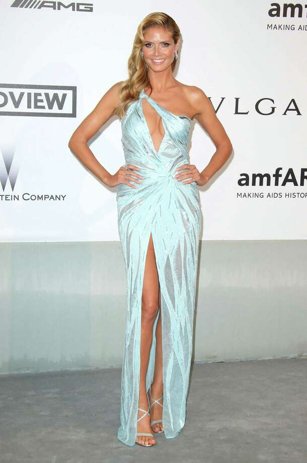 Heidi Klum attends amfAR's 21st Cinema Against AIDS Gala, Presented By WORLDVIEW, BOLD FILMS, And BVLGARI at the 67th Annual Cannes Film Festival on May 22, 2014 in Cap d'Antibes, France.  (Photo by Mike Marsland/WireImage) Photo: Mike Marsland, Getty Images  / 2014 Mike Marsland