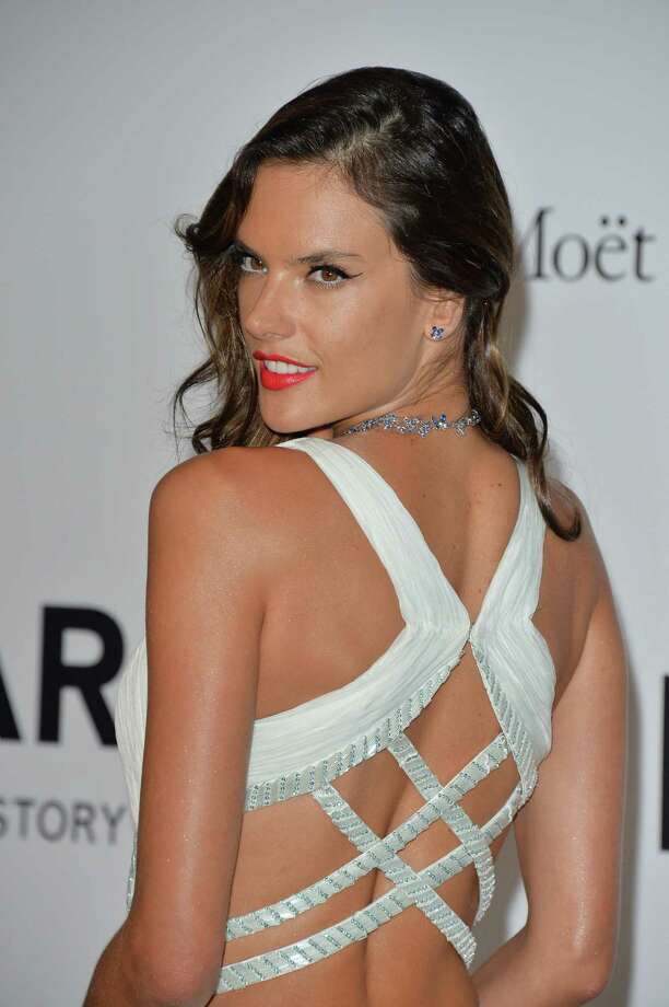 Alessandra Ambrosio attends amfAR's 21st Cinema Against AIDS Gala, Presented By WORLDVIEW, BOLD FILMS, And BVLGARI at the 67th Annual Cannes Film Festival on May 22, 2014 in Cap d'Antibes, France.  (Photo by George Pimentel/WireImage) Photo: George Pimentel, Getty Images  / 2014 George Pimentel