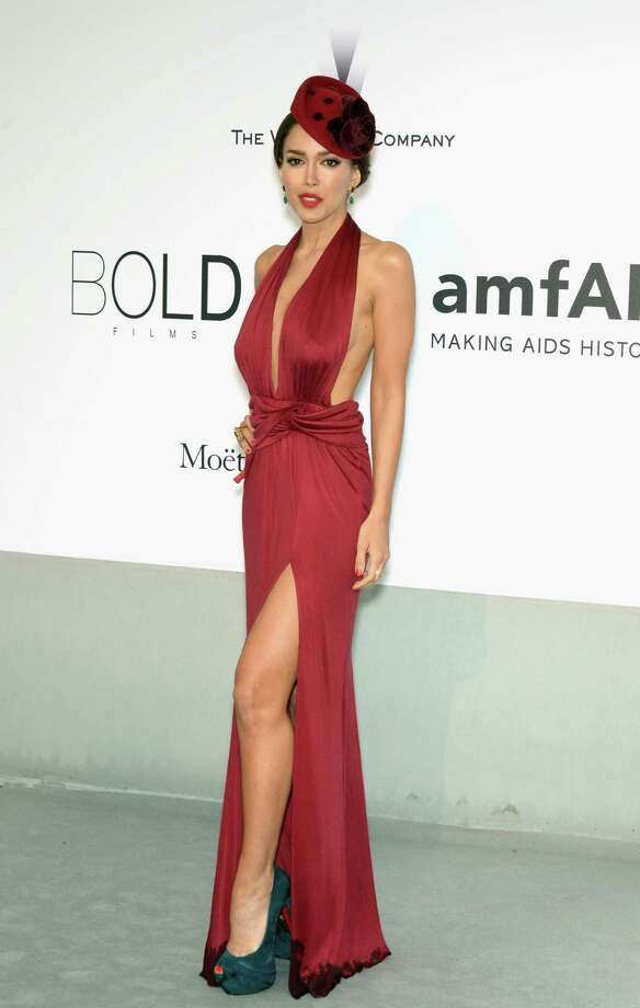 Sahar Biniaz attends amfAR's 21st Cinema Against AIDS Gala Presented By WORLDVIEW, BOLD FILMS, And BVLGARI at Hotel du Cap-Eden-Roc on May 22, 2014 in Cap d'Antibes, France.  (Photo by Dominique Charriau/WireImage) Photo: Dominique Charriau, Getty Images  / 2014 Dominique Charriau