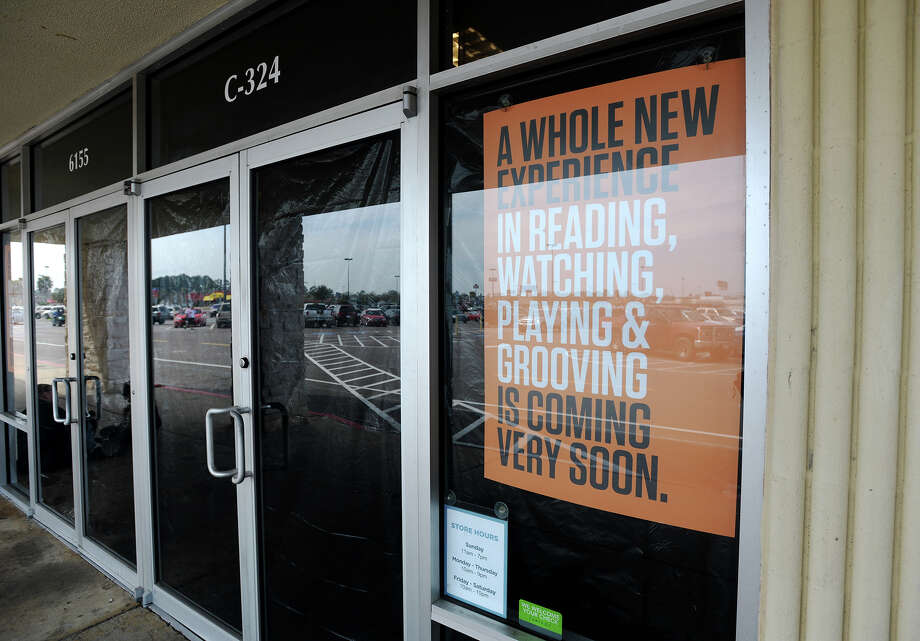Aside from orange signs in some of the windows, the glass of the Books-A-Million at Parkdale Mall is covered with black plastic Monday afternoon. The bookstore has shut its doors, if temporarily. An employee said the store will be shut down until May. Photo taken Monday, 3/10/14 Jake Daniels/@JakeD_in_SETX Photo: Jake Daniels / ©2014 The Beaumont Enterprise/Jake Daniels
