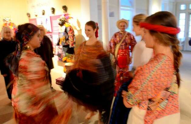 On May 2, the National Museum of Dance in Saratoga Springs held the opening reception for one of its newest exhibits: Tradition in Movement: Dance Culture of Guatemala. About 200 people attended. The exhibit will run through April 2015. (Submitted photos) Photo: Picasa