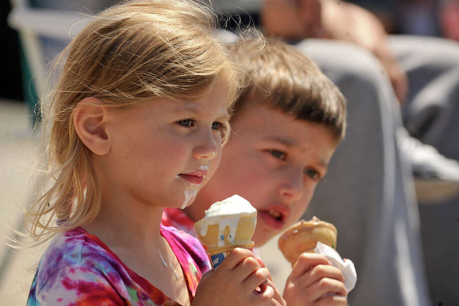It's supposed to be a sunny weekend - perfect for an ice cream outing. Click here to vote for your favorite ice cream spot in Southwestern Connecticut.  Photo: Jason Rearick / Stamford Advocate