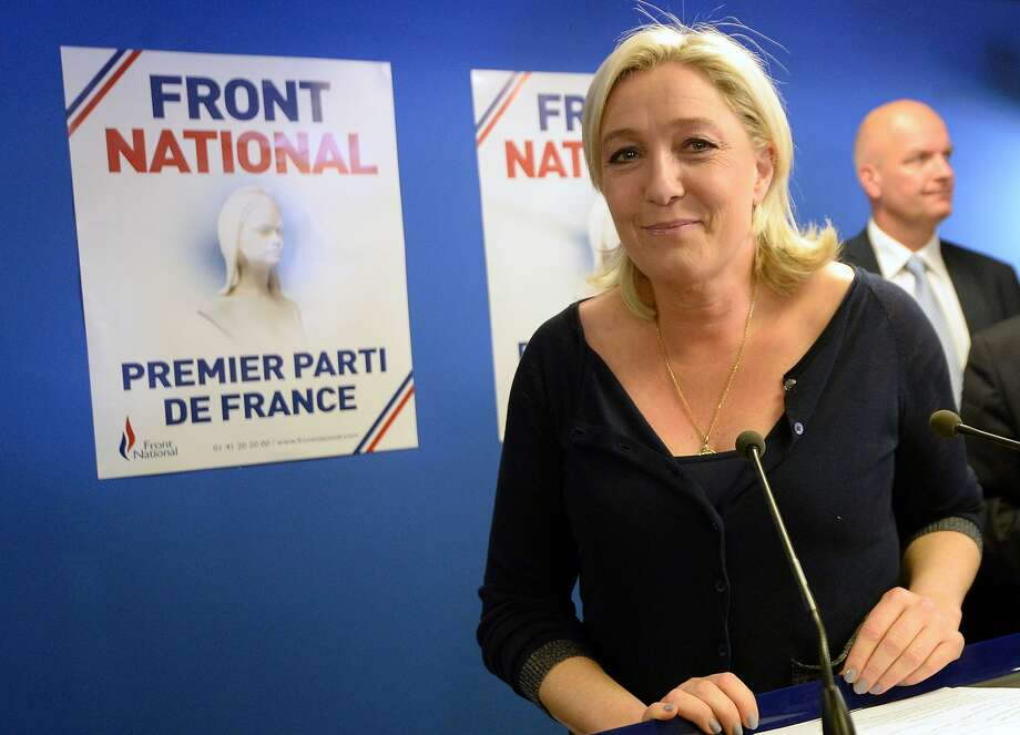 Marine Le Pen's far-right Front National Party was the outright winner among French voters. Photo: Pierre Andrieu, AFP/Getty Images