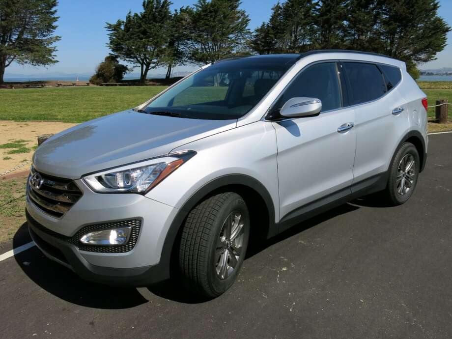 The 2014 Hyundai Santa Fe Sport is a sturdy addition to the crowded field of mid-size crossovers.  (All photos by Michael Taylor.)