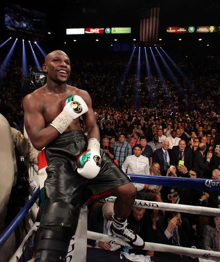14. Floyd Mayweather Jr.Winnings: $34 million Endorsements: $0Total: $34 million Photo: JOHN GURZINSKI, AFP/Getty Images