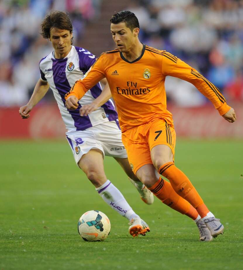 9. Cristiano Ronaldo  Salary: $23 million Endorsements: $21 million  Total: $44 million Photo: Israel L. Murillo, Associated Press