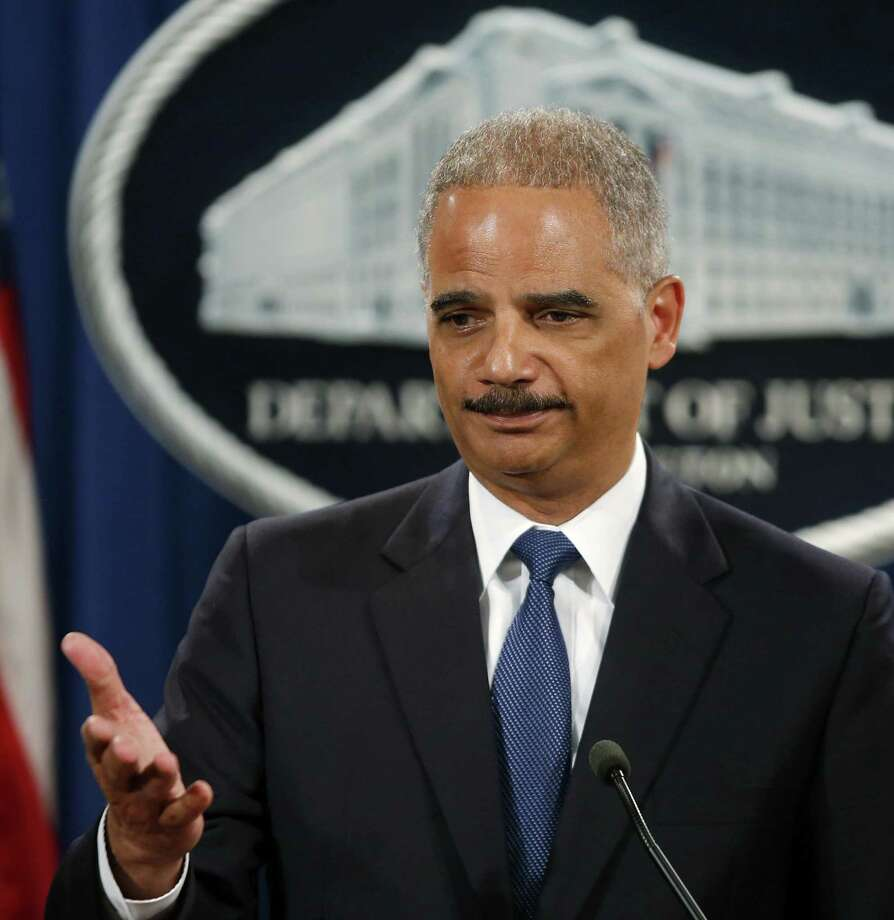 Attorney General Eric Holder must see himself as the nation's conscience on race. He needs to tread more lightly on the issue. Photo: Charles Dharapak / Associated Press / AP