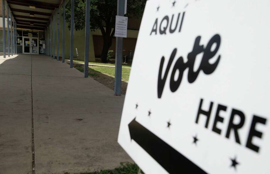 Election day for the Republican and Democratic primary runoffs has arrived. Go vote! Photo: Express-News File Photo / © 2013 San Antonio Express-News