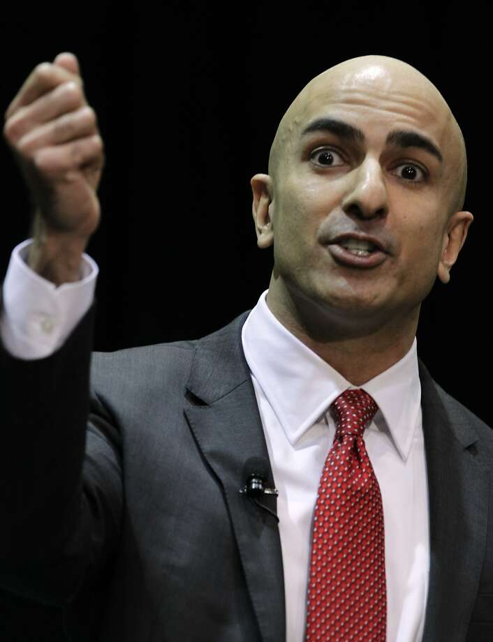 Republican candidate Neel Kashkari, above, and Gov. Jerry Brown will face off Sept. 4. Photo: Paul Chinn, The Chronicle