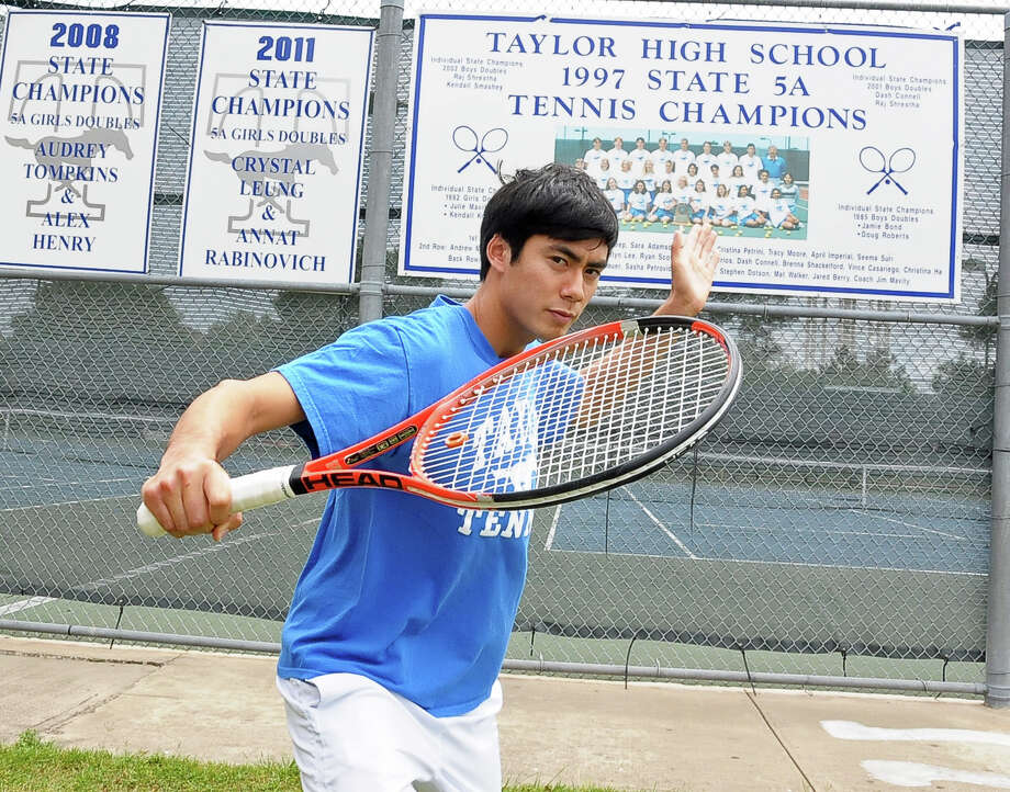 Katy Taylor's Peter Leung gave up doubles to have a better shot at winning a state championship. Photo: Â Tony Bullard 2014, Freelance Photographer / © Tony Bullard & the Houston Chronicle