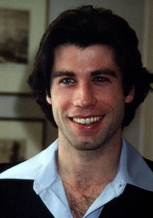 """Actor John Travolta on December 13, 1977, during the promotion for """"Saturday Night Fever"""" -- a movie I I hated at the time but came to love.  Also don't miss him in PULP FICTION. Photo: Ron Galella, WireImage / 1977 Ron Galella"""