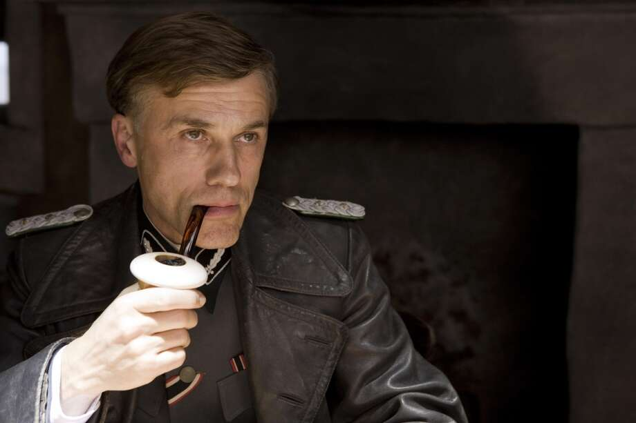 "Christoph Waltz in ""Inglourious Basterds.""  Such a wonderful combination of moment by moment truth and heightened reality. Tarantino found his ideal interpreter. Photo: Weinstein Co."