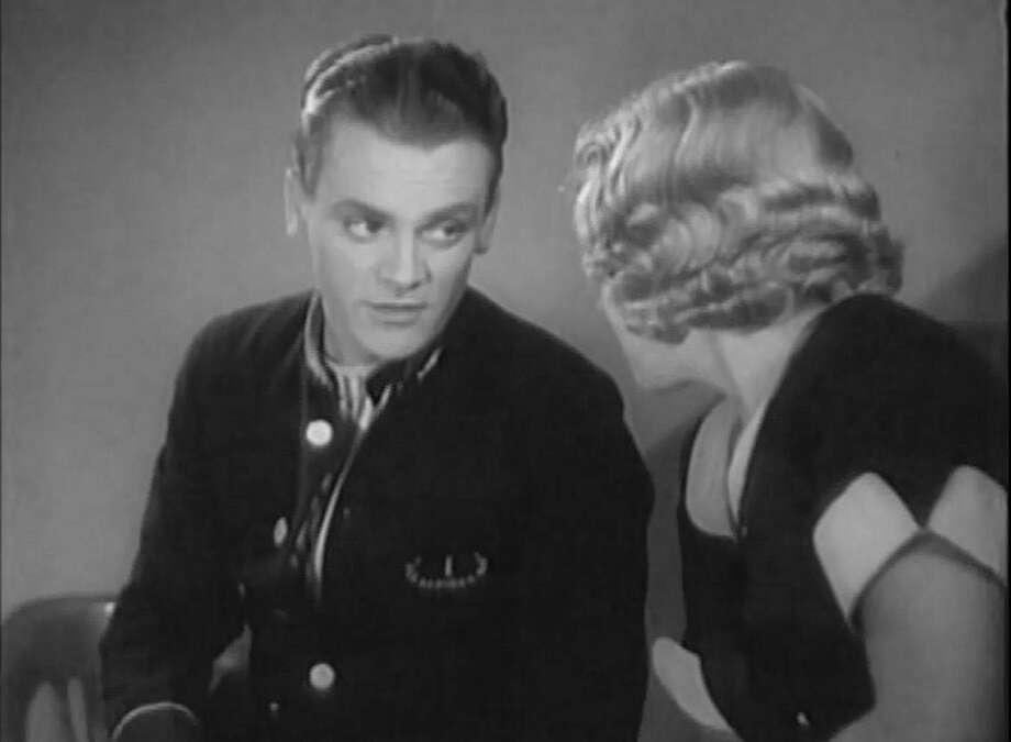 "James Cagney in ""Blonde Crazy"" (1931).  But then, ANY Cagney movie from before 1934 is worth seeing, -- and so is ""Yankee Doodle Dandy,"" ""Mr. Roberts"" and ""White Heat."" Photo: Courtesy, MGM 1930"