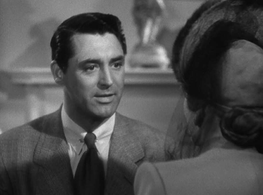 Cary Grant in SUSPICION (1941) --  one of the great performances of the 1940s.  He plays a man who may or may not be planning to kill his wife.  He is seductive and engaging, but he never makes you comfortable. Photo: File
