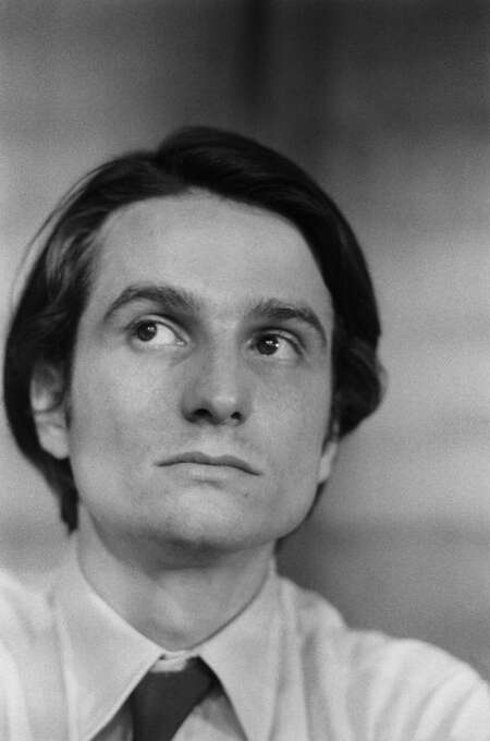 Jean Pierre Leaud at Film Festival in Cannes,France on May 14th,1973, the year he made the remarkable 3 1/2 hour long THE MOTHER AND THE WHORE. Photo: Jean-Claude FRANCOLON, Gamma-Rapho Via Getty Images / 2011 Gamma-Rapho