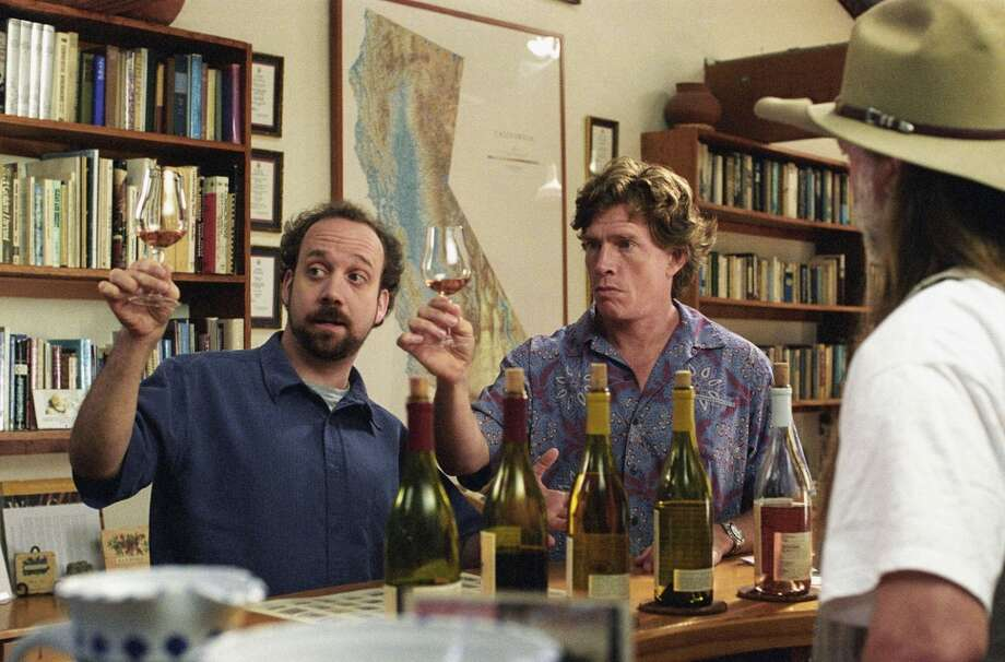 "Paul Giamatti, with Thomas Haden Church, in the film that defined Giamatti's appeal, ""Sideways"" (2004). Photo: Merie W. Wallace, AP"