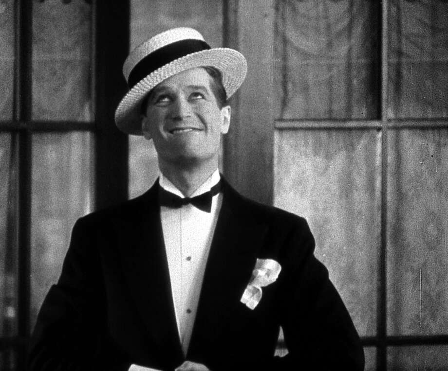 Maurice Chevalier in THE SMILING LIEUTENANT (1931), a movie so risque it couldn't be shown after censorship took hold three years later.  Chevalier's charm and energy are unstoppable. Photo: Criterion Collection