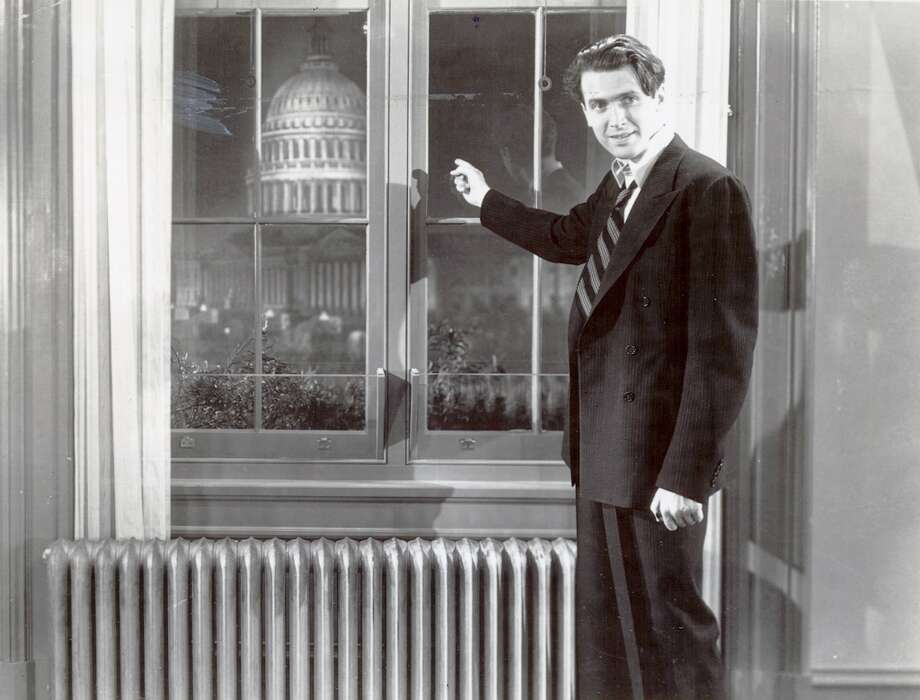 "James Stewart in ""Mr. Smith Goes to Washington"" (1939).  And in so many other films, including WINCHESTER 73, IT'S A WONDERFUL LIFE, VERTIGO, ANATOMY OF A MURDER . . .  Photo Credit Columbia Pictures/ Chronicle File Photo: Photo Credit Columbia Pictures, Chronicle File"