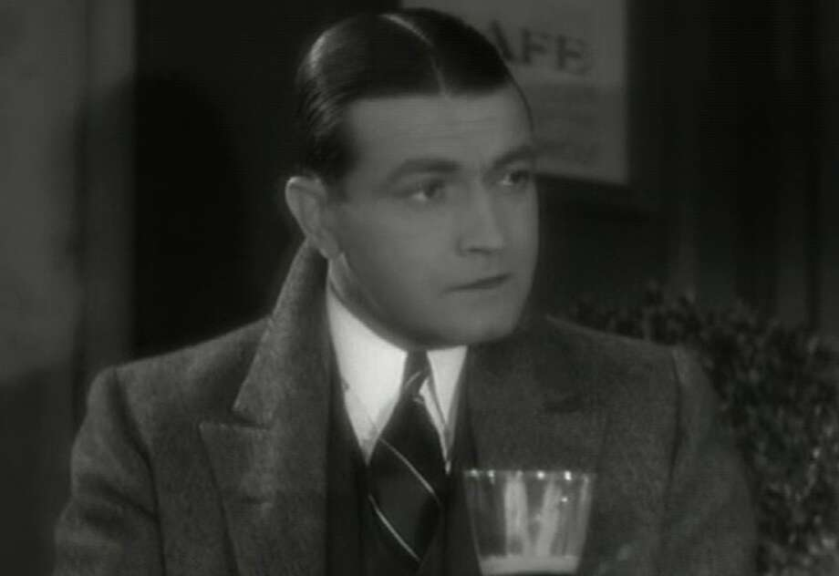 Richard Barthelmess was the Robert Redford of the early thirties, an actor with a unique contract -- he could make whatever movie he wanted -- and chose to make movies with a social purpose.  THE LAST FLIGHT (1931) showed him at his best, as a WWI veteran too emotionally damaged to go home. Photo: File