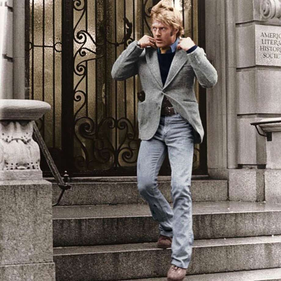 Robert Redford in 3 DAYS OF THE CONDOR (1975), arguably the best of Redford's Americana series, thought of as just a good thriller at the time. Photo: Amazon.com