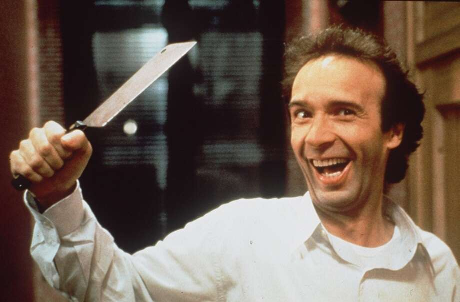 "Roberto Benigni in ""The Monster"":  Sentiment often gets the better of Benigni, but not here.  Here he's just funny -- no, hysterical."