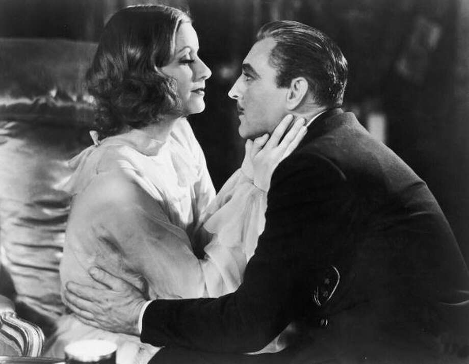John Barrymore (with Greta Garbo) in  'Grand Hotel' (1932),  directed by Edmund Goulding. There's something warm and sad and gallant about him in this that lingers in the mind. Photo: MGM Studios, Getty Images / Moviepix