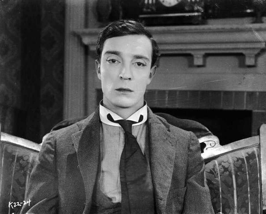 1924:  American comedian Buster Keaton (1895-1966) in the film 'Sherlock Junior' in which he plays a cinema projectionist who enters into a movie. Photo: John Kobal Foundation, Getty Images / Moviepix