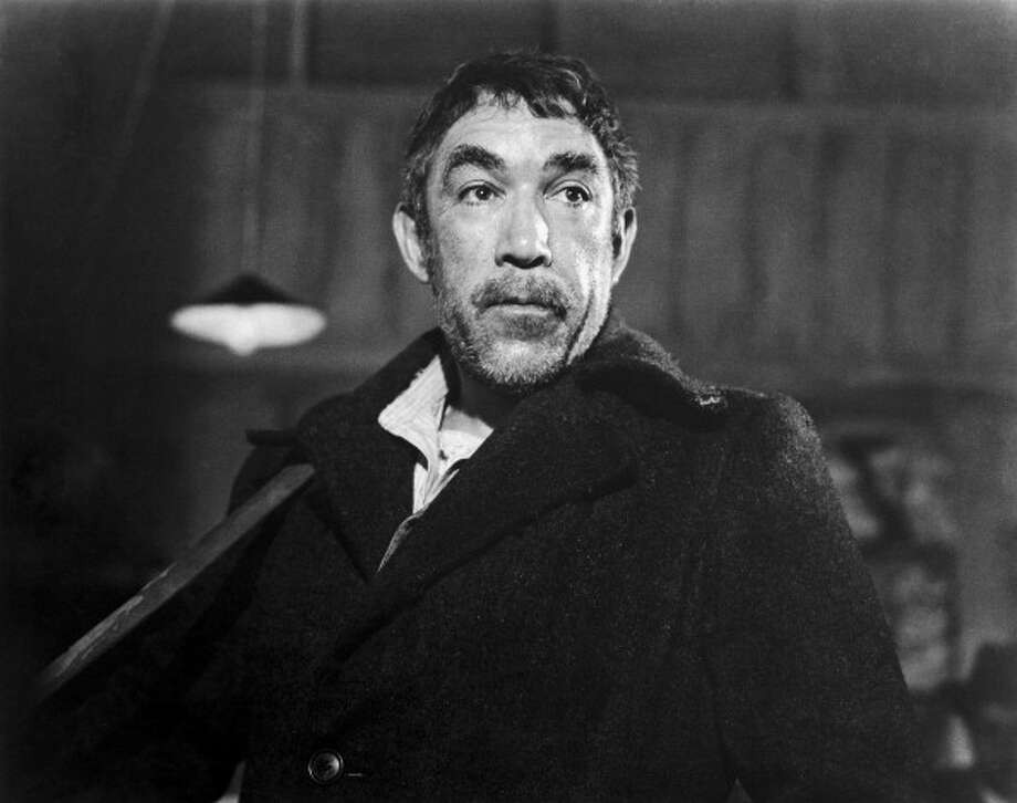 "Anthony Quinn was nothing like the carefree ""Zorba The Greek"" (1964) in person, but I think he would have liked to be.  What a wonderful creation. Photo: Keystone-France, Gamma-Keystone Via Getty Images / Gamma-Keystone"
