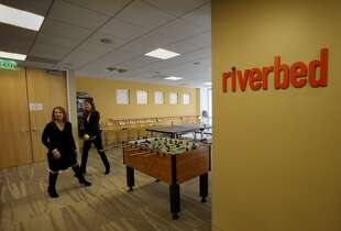 "14. Riverbed   score: 4.0 | ""Overall company culture of excitement and pride for solutions. Good pay and benefits are very cost competitive."" -- Riverbed technology marketing manager"