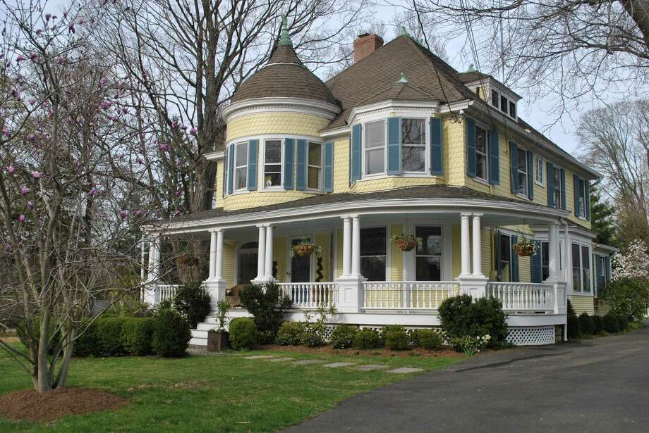 Rich in architectural details, the Queen Ann Victorian at 46 Noroton Ave. in Darien is in a convenient location with an easy commute to town, nearby schools, trains, parks and shops. It is on the market $1,945,000. Photo: Contributed Photo, Contributed / Darien News