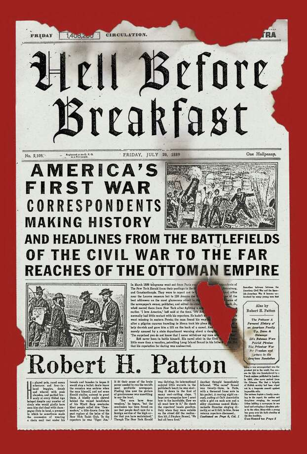 "Darien historian Robert H. Patton will be talking about his book ""Hell Before Breakfast"" at the Ferguson Library in Stamford on Thursday, May 29. Photo: Contributed Photo, Connecticut Post / Connecticut Post"