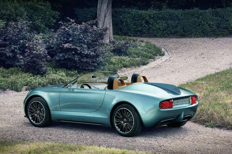The  MINI Superleggera Vision makes its debut at this years'  Concorso d'Eleganza Villa d'Este in Lake Como, Italy. Photo: BMW Group