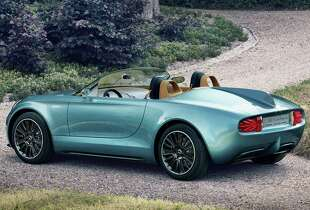 The  MINI Superleggera Vision makes its debut at this years'  Concorso d'Eleganza Villa d'Este in Lake Como, Italy.