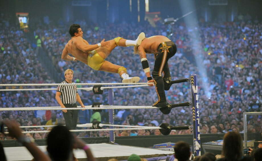 Alberto Del Rio is the son of legendary luchador Dos Caras. Photo: Moses Robinson, Getty Images / 2011 Moses Robinson