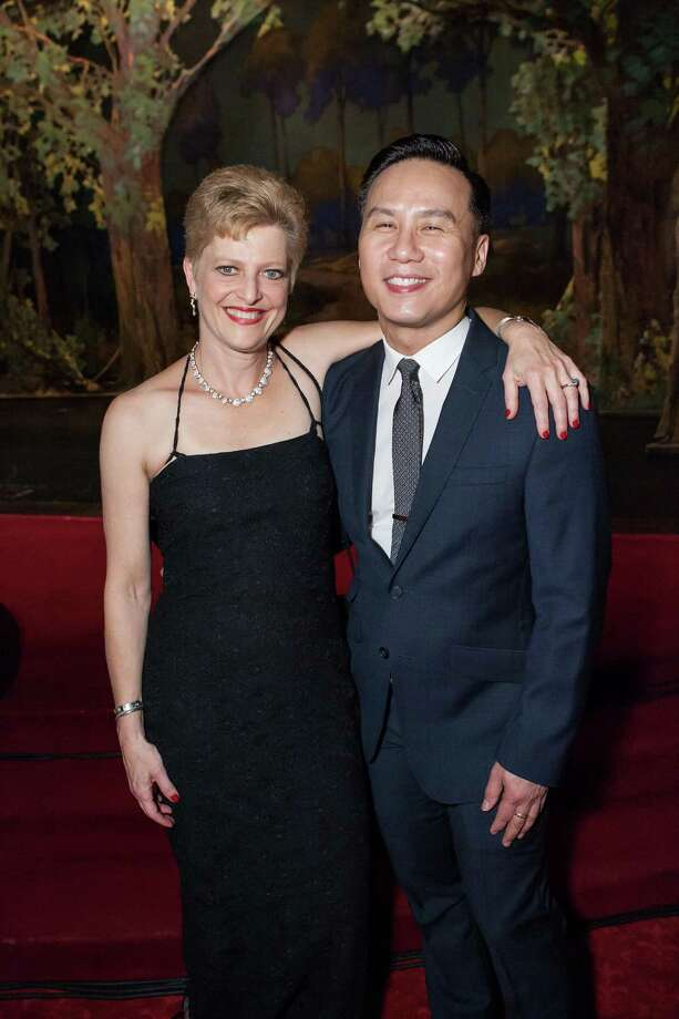 Carey Perloff and BD Wong at A.C.T.'s Mad, Mad Men Gala on May 18, 2014. Photo: Drew Altizer Photography / Drew Altizer Photography