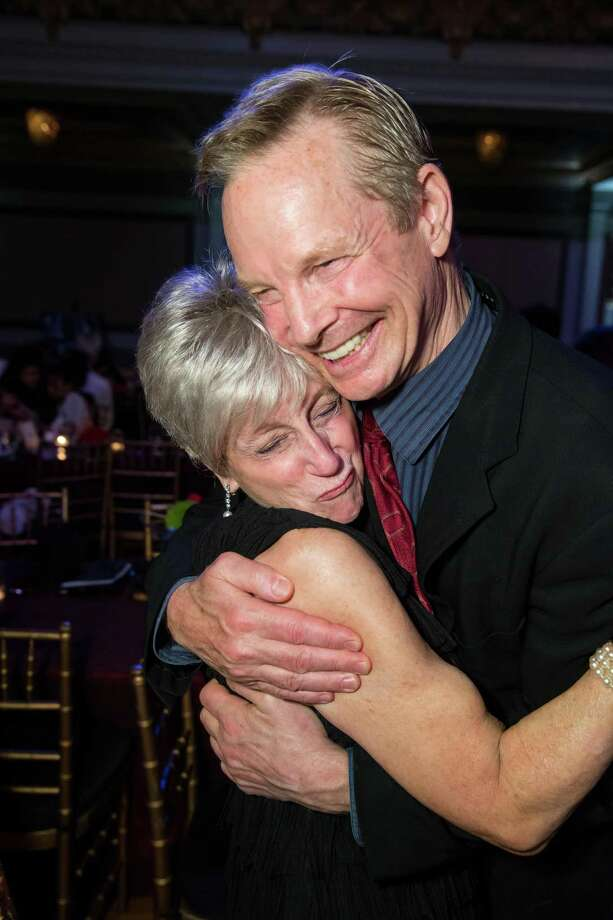 Nancy Livingston and Bill Irwin at A.C.T.'s Mad, Mad Men Gala on May 18, 2014. Photo: Drew Altizer Photography / Drew Altizer Photography