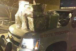 244 pounds of marijuana found in a Mercedes stopped on east I-10 in Baton Rouge.