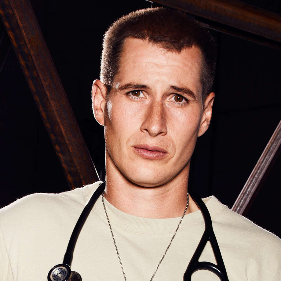 Brendan Fehr, who plays Drew Alister, talked Spurs and cuisine in S.A. recently. Photo: NBC