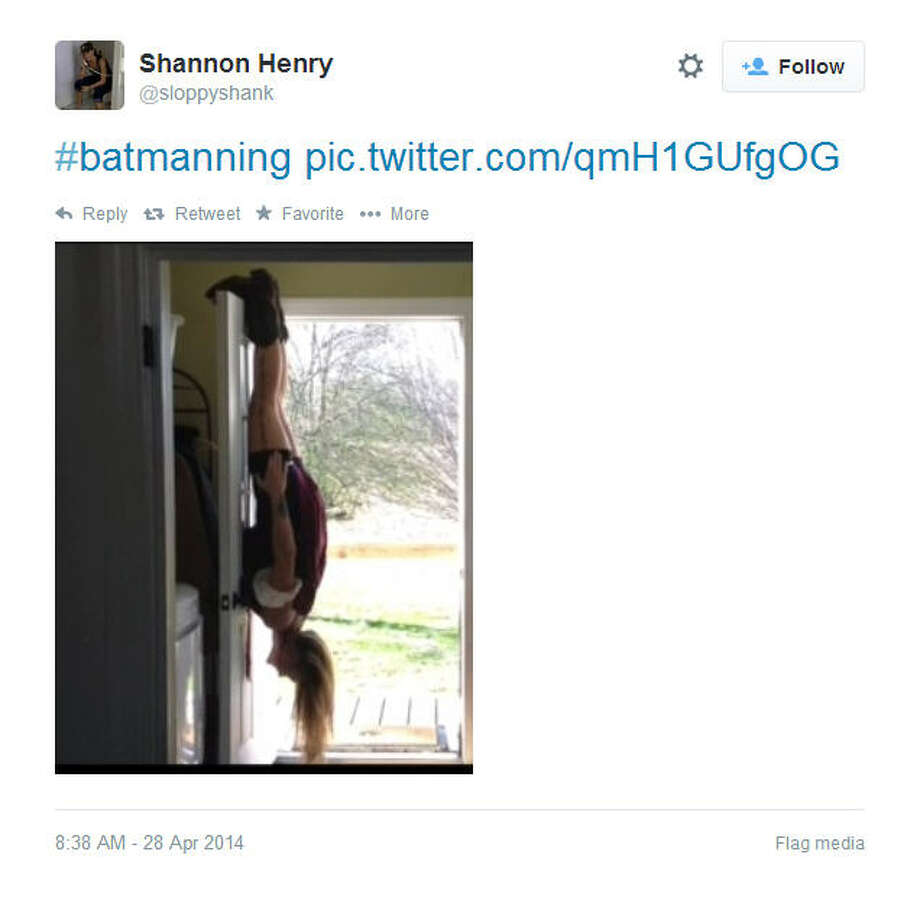 Batmanning Photo: Sloppyshank, Twitter